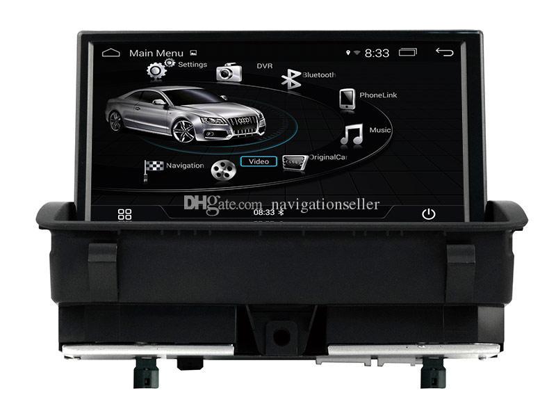 7.0 inç Android10.0 3 Yollu USB Stereo Radyo Araba DVD Oynatıcı GPS Navigasyon Multimedya için Audi Q3 2011-2018 RMC
