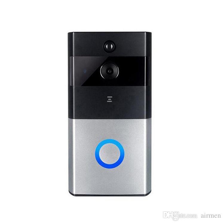 Новый Z-Бен беспроводной видео-телефон двери с высокой четкости пир Беспроводной дверной звонок домофон с разрешением 720p IP-камера батарея питания аудио SD слот для карты открытый безопасности
