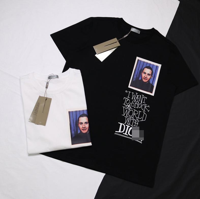 20SS Nouvelle DR Marque T-shirts Designer T-shirt des femmes des hommes Marque T-shirt Pull à manches courtes Mode Streetwear Designer Chemisier à capuche 20042407L