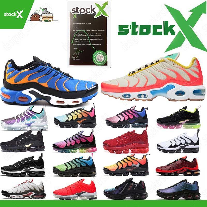 New Tn Além disso GS Greedy SE OG CQ Decon Pacote Mercuiales Running Shoes Mens Mulheres Trainers Chaussures azul Fúria Esporte Sneakers Tamanho 36-45