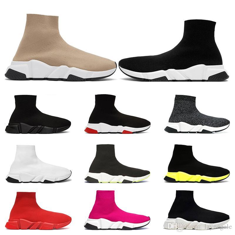 balenciaga shoes Marca de calidad superior para hombre para mujer nueva casual de cuero zapatillas deportivas zapatillas de deporte tamaño eur 36-45