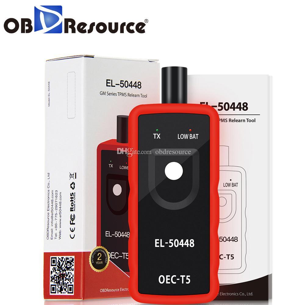 Obdresource OEC-T5 EL50448 السيارات مراقبة ضغط الإطارات tpms إعادة أداة السيارات لجنرال موتورز أوبل EL-50448 سيارة أداة تشخيصية