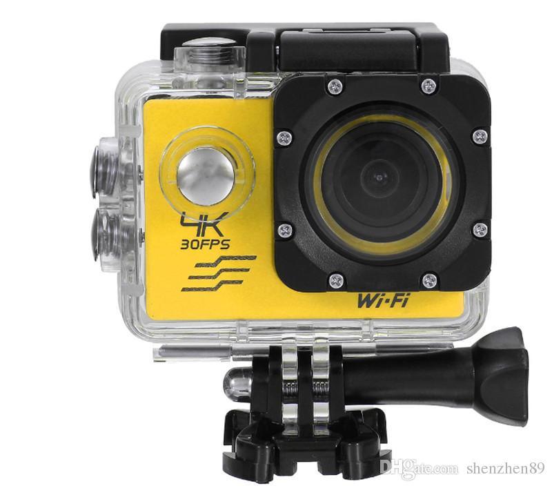caméra WIFI Action SJ8000 Ultra HD 4K 24FPS 16MP Sport Caméra plongée 30M caméra étanche objectif 170D
