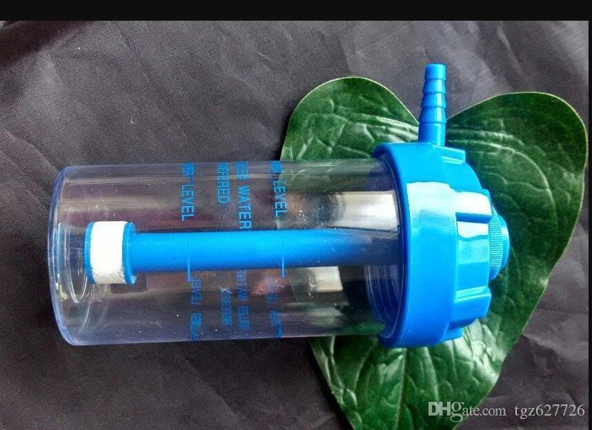 Die neue Acryl-Wasser-Flasche, Rauchen Großhandel Glas Bongs Ölbrenner Rohre Wasserrohre Kawumm Bohrinseln Freies Verschiffen