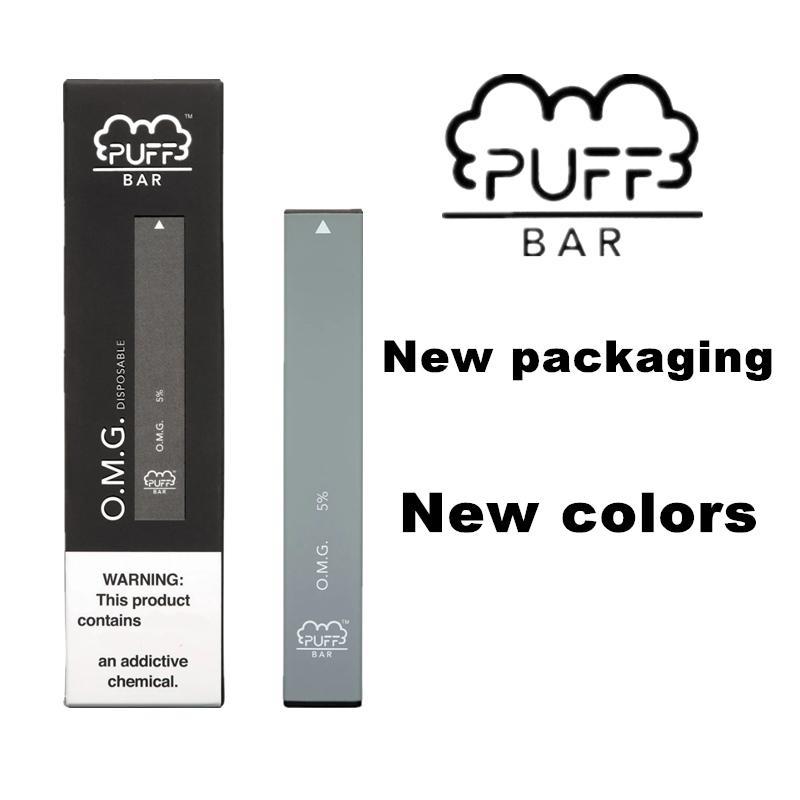 퍼프는 보안 코드 280mAh 배터리 1.3ml 용량 Puffbar Vape 펜 Vape 카트리지로 Disposables를 포드 시스템 장치 1.3ml 바