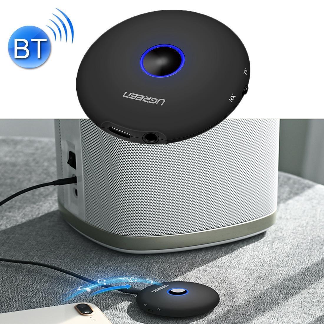 UGREEN CM108 2 in 1 Bluetooth V4. 2 аудио приемник и передатчик 3,5 мм адаптер Aptx, дальность передачи: 10 м, для телевизора, ПК, наушников, Sp