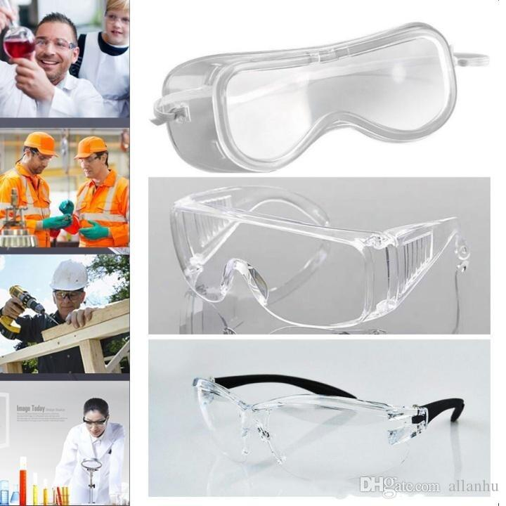 Safety Goggles Dust Wind Proof Sand Proof Anti-fog Goggles Protective Glasses Anti-dust Outdoor Proof Impact Safety Eyeglasses FY4006 4007
