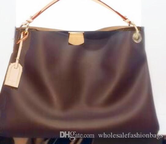 Yepyeni yüksek kaliteli kadın Avrupa ve zarif MM PM çanta çantası çanta V100 Dana derisi amerikan hakiki deri bayan gerçek