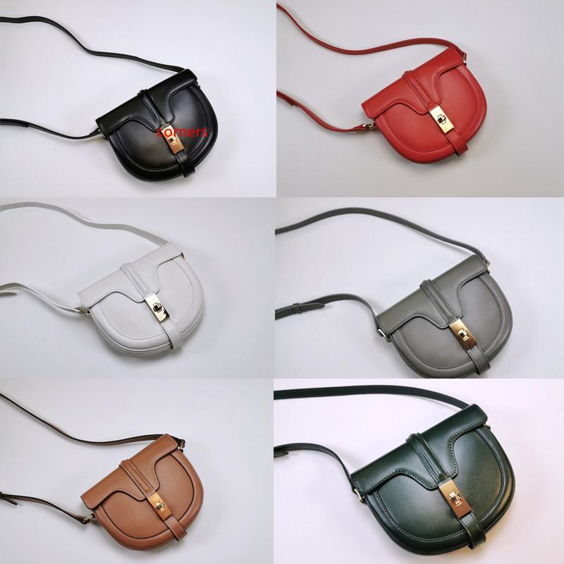 Дизайнер роскошные сумки через плечо Атлас металлическая пряжка Женщины сумки небольшой сумка BESACE 16 в матовый телячья кожа седло сумка Сумка