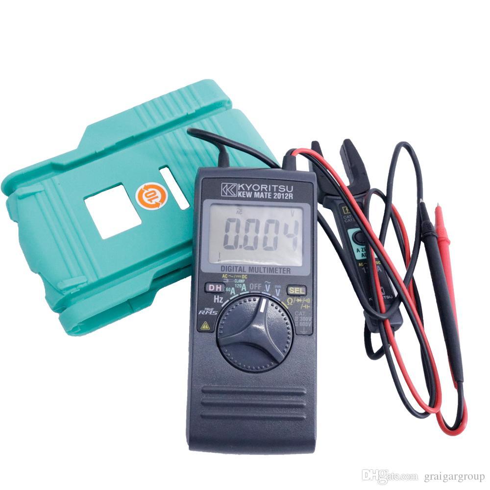 AC / DC Dijital Multimetre KYORITSU 2012R 200mA Süreklilik Testinde Akım Ölçüm