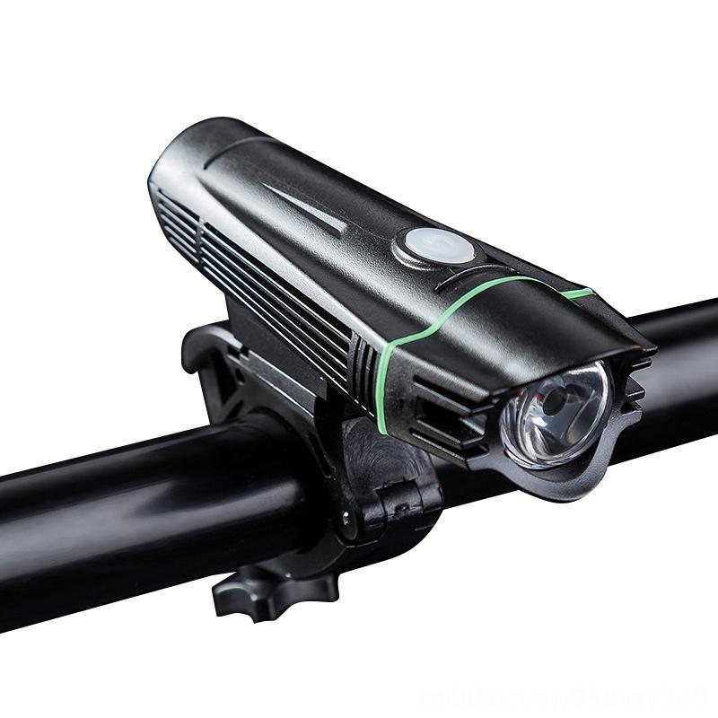 T6 LED Headlight Waterproof Bicycle Bike Light USB Charging Bike Front Light 4 Models Handlebar Cycling HeadLight Bicycle Accessories Cyclin