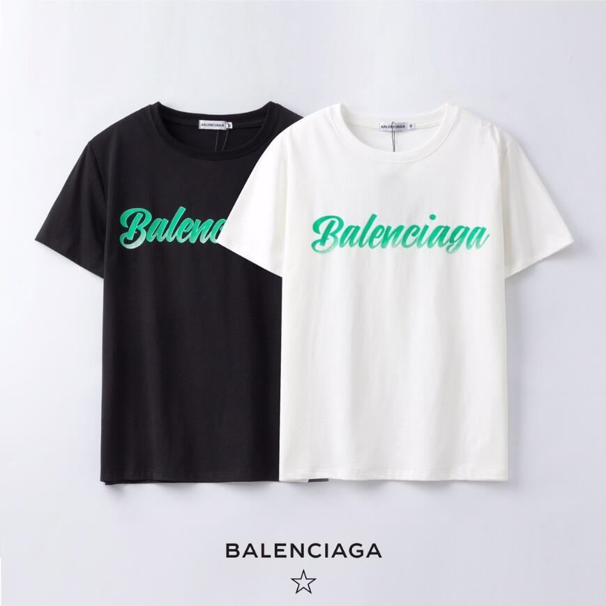 Explosión de la manera marca con camiseta de la moda de las nuevas mujeres Cartas de manga corta camiseta ocasional de los hombres de Nueva Perfil de # 163