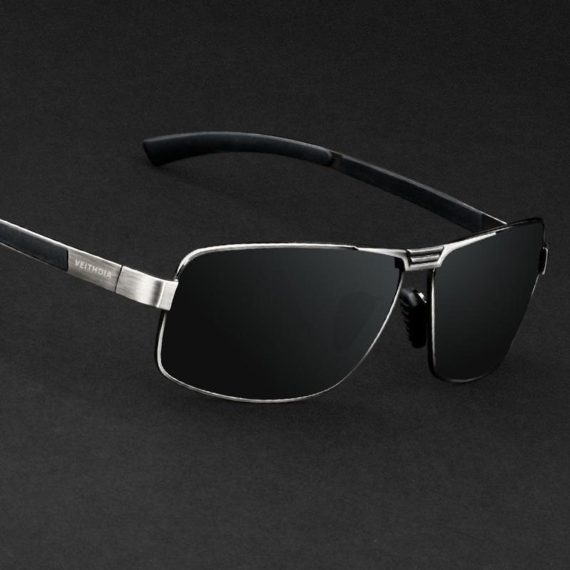 Veithdia Herren Sonnenbrille Polarisierte Linse Fahren Sonnenbrille Angeln Outdoor Sports Brillen Zubehör Für Männer 2490 Y200420
