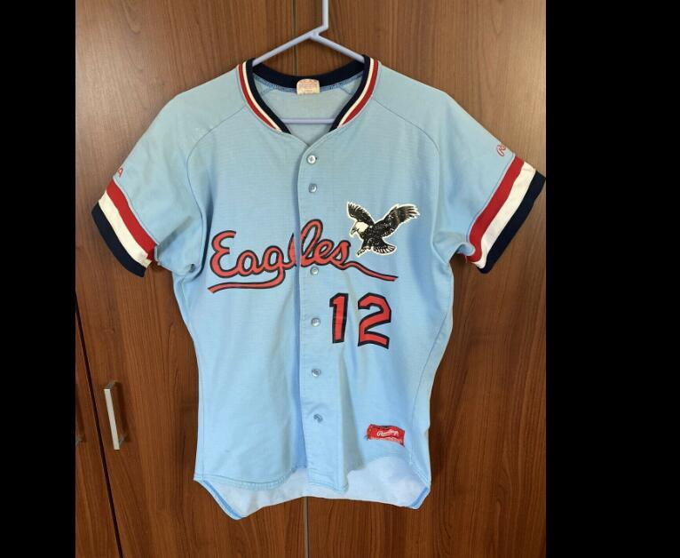 USA Eagles 12 rugby team city Baseball style Jersey shirts Custom any name Number