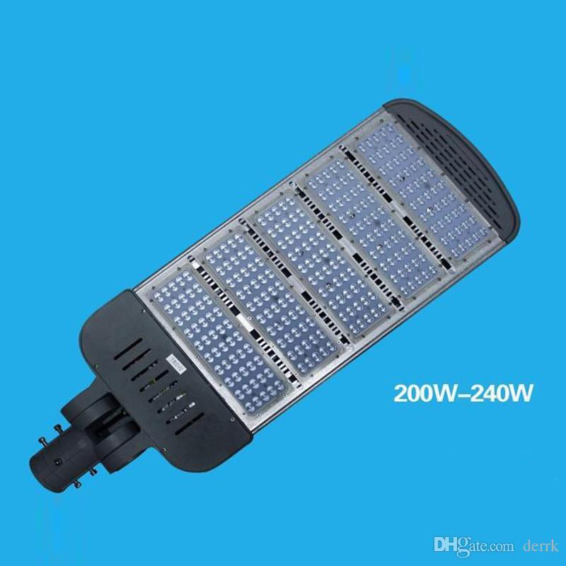 야외 조명 높은 극 LED 찌른 빛 80W 100W 120W 150W 200W 240W LED 도로 조명 선택 팔 조명 거리 조명 방수 IP67 888