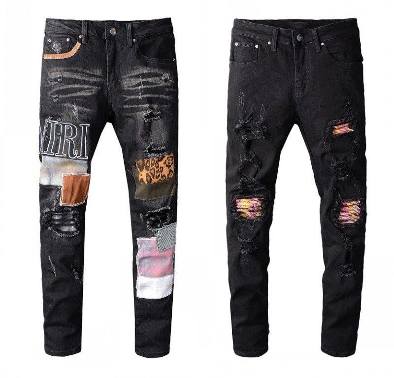 Moda Uomo Semplice leggeri jeans da uomo Large Size solido casuale diritti classici Denim Jeans per il formato 28-40 JS629