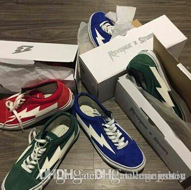 Yezee Calabasas Stylist Ian Connors Revenge Calabasas X Tempesta Sneakers Kanye West casual Calzature Scarpe Uomo Donna quattro colori EUR36-4 all'ingrosso