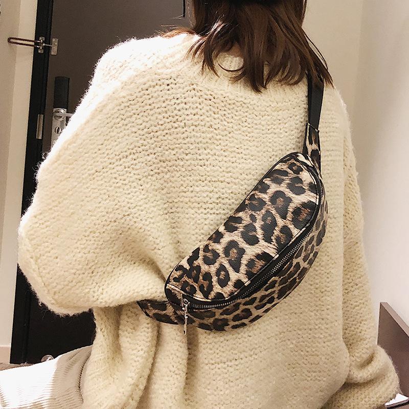 Pelle Vita PU Donne Fanny del sacchetto delle donne del sacchetto cinghia di modo pacchetto 2019 Phone Pouch casuale bianco torace Borse Ragazze di spalla