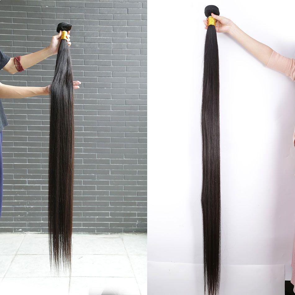 Beautystarquality Longueur longue Longue Vierge crue Malaisie Human Cheveux naturels Coiffures droites Wefts Corps Indien Body Wave Wavy Virgin Malaisien Bundle de cheveux