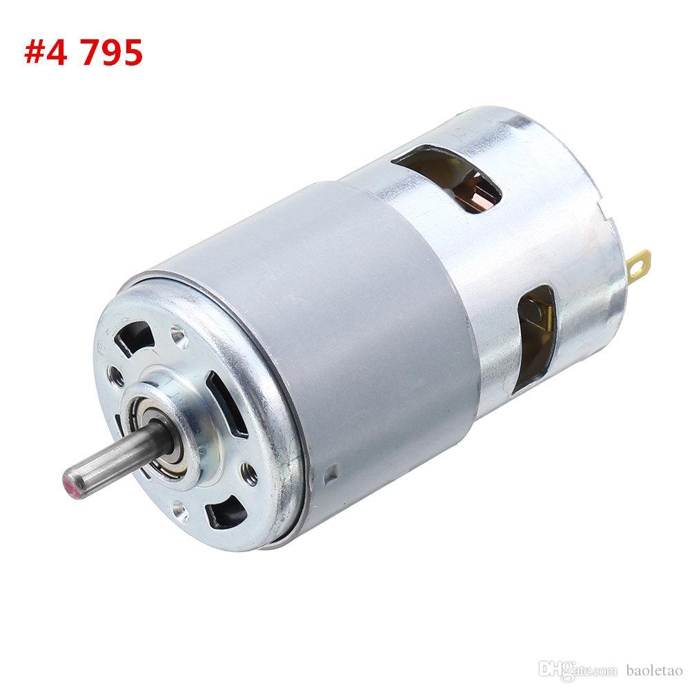 DC 12V-24V 3000-12000RPM 775//795//895   Bracket Large Torque Gear  P P