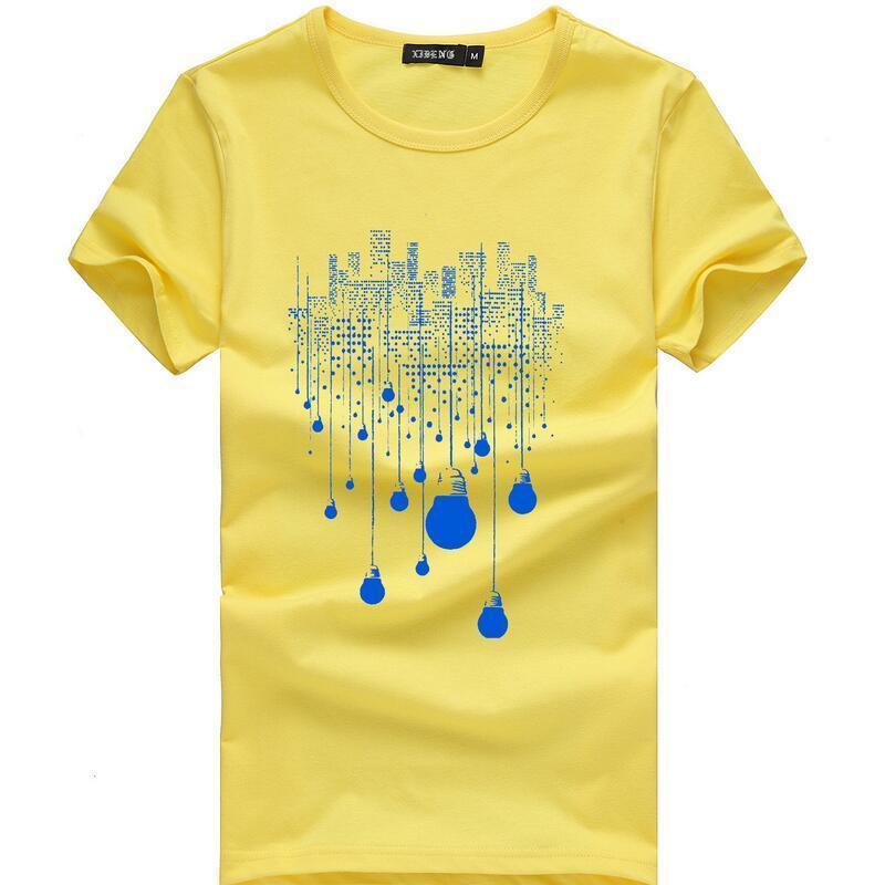 Mode d'été T-shirt court Hommes Marque Vêtements Coton Confortable Homme T -Shirt Vêtements pour hommes Taille plus code bien