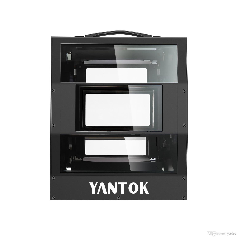 YANTOK Sistema 3D passiva feixe triplo de polarização reald passiva modulador para cinema digital padrão, altura eficiência óptica YT-PS500