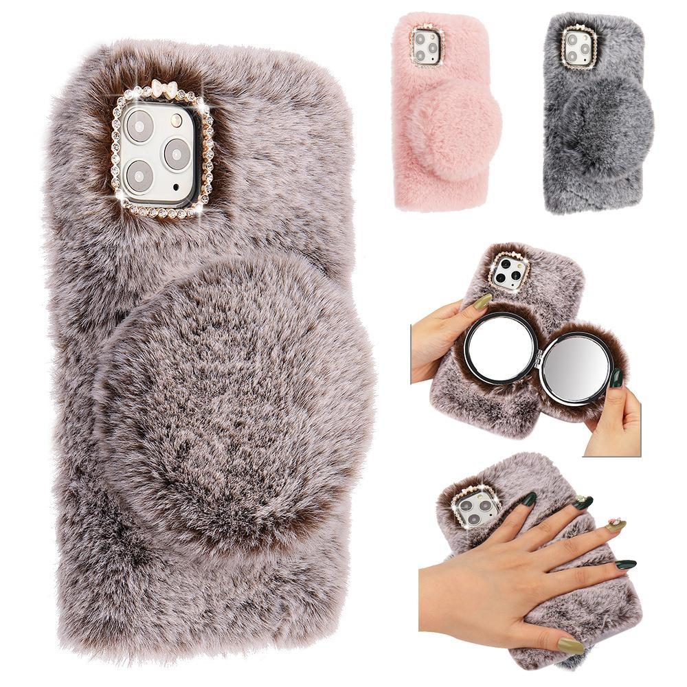 Diamond Bling Cute Mirror Panda Phone Case For Samsung Galaxy A10 ...