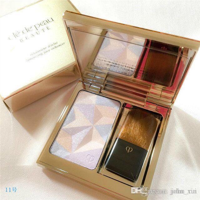 Calidad superior con el mejor precio Resaltador de belleza CPB Rehausseur Luminizante polvo brillante y suave Mejorador de cara # 11 # 14 dos colores