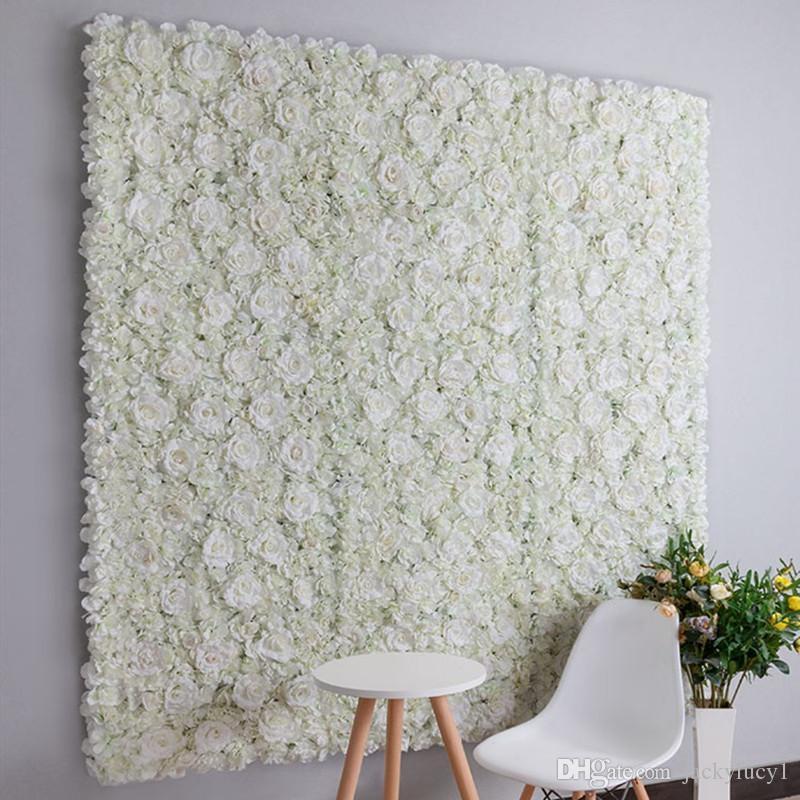 Новое прибытие свадебный фон украшения цветок стены 40x60 см искусственная Гортензия роза цветок ряд для вечеринок