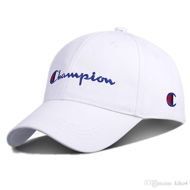 Top Design Bordado Campeão Ajustável Snapback Boné de Beisebol Diamante Lazer Protetor Solar Hip Hop Boné de Beisebol Sunscreen hat