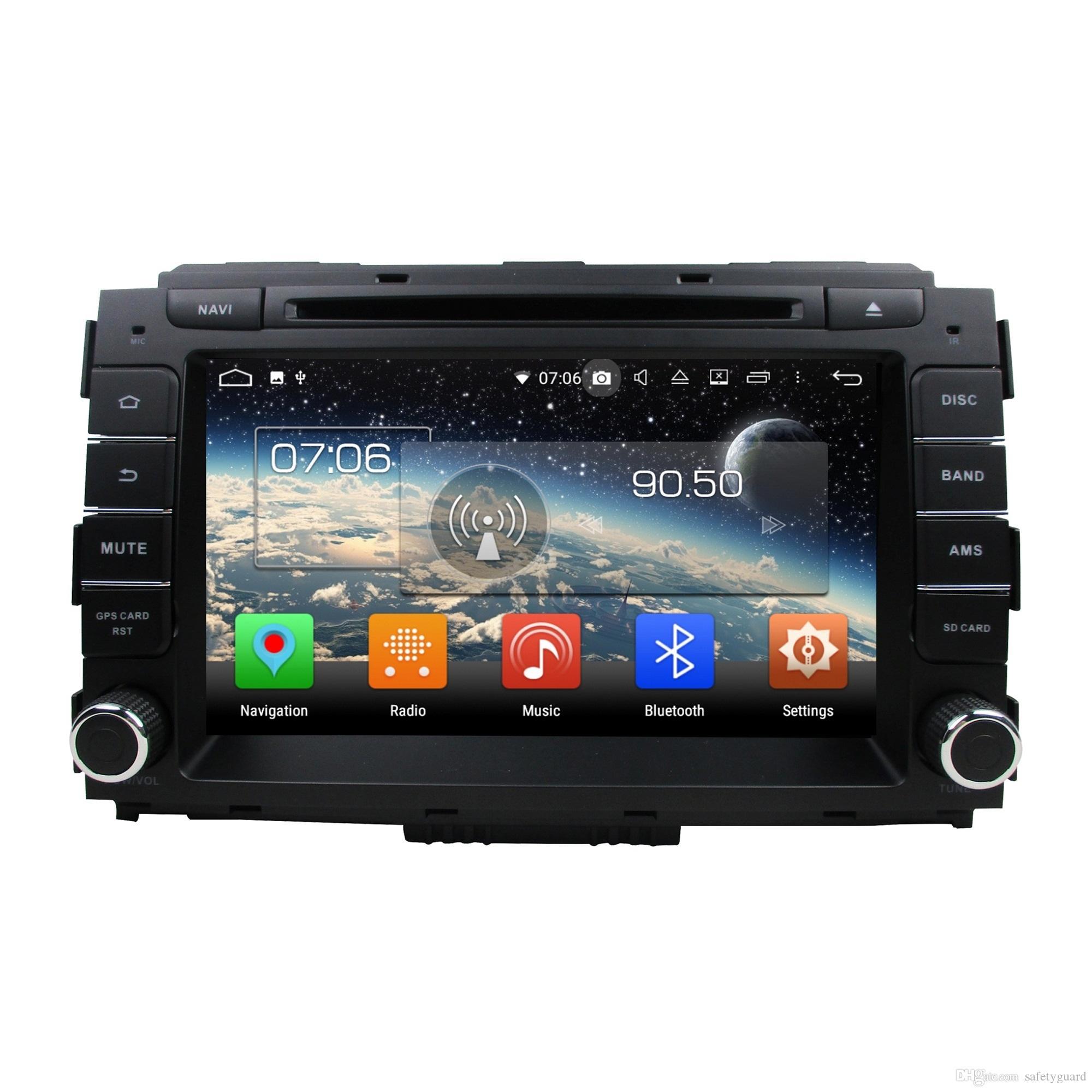 "PX5 4GB RAM 64GB ROM 2 din 8"" Android 8.0 Car DVD Player for Kia Carnival 2014-2018 Car Audio Stereo Radio GPS Bluetooth WIFI USB DVR"