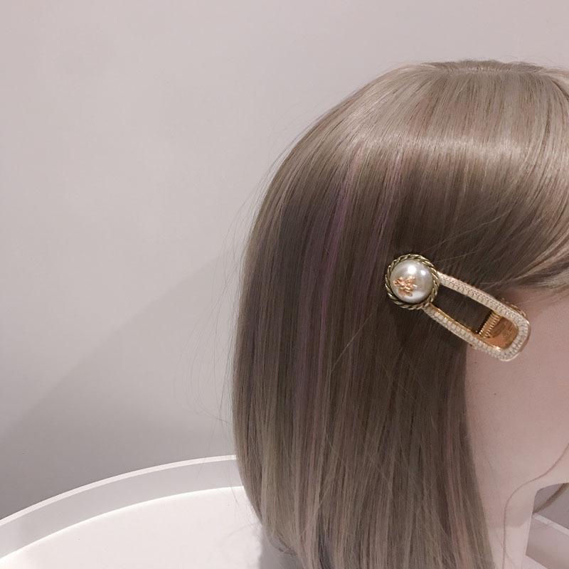 modo de color de moda de la vendimia blanco y negro damas pernos de pelo Accesorios para el cabello Herramientas famoso Rhinestone Tiaras peina el pelo de lujo del Pin