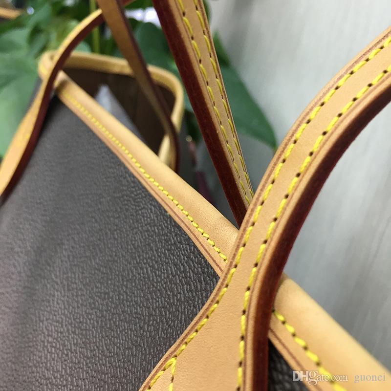 Tasarımcı-çanta 2019 klasik sıcak satış tarzı Naverfull hakiki inek yüksek deri en kaliteli lüks torbaları debriyaj omuz alışveriş çantası