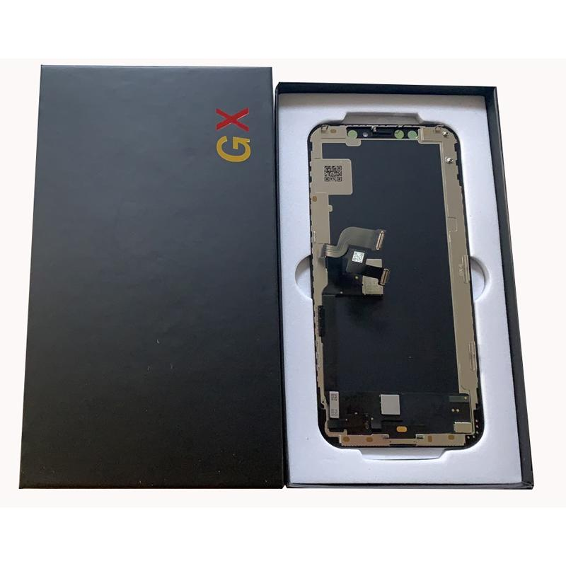 For iphone x xs black oled lcd touch screen replacement repair vs lcd screen for iphone x screen panel damage GX brand great A quanlity