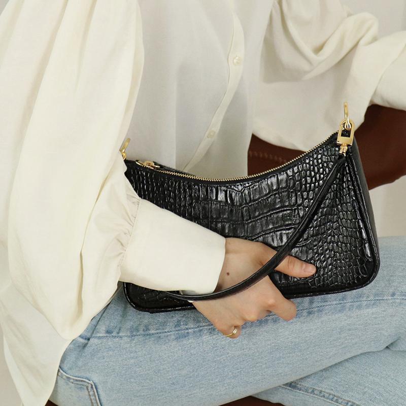 2020 New Arriva Luxury Handbag Mulheres Bolsas Designer de Mulheres Alligator Vintage Bolsas de alta qualidade fêmeas Bolsas de Ombro meninas bolsas de couro