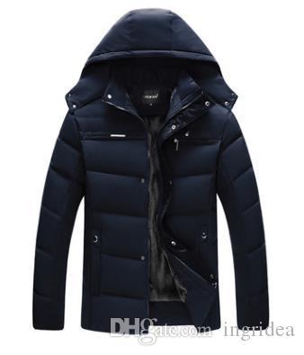 vestuário desgaste do inverno roupas de algodão dos homens de meia-idade o pai de homens de meia-idade P-233