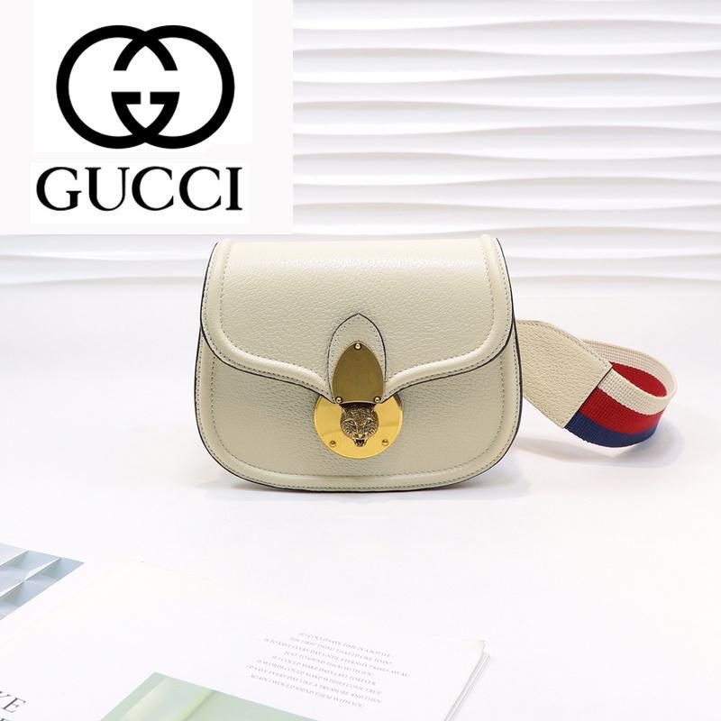 dfkjhldfk A3UV M495663 White Leather Colorblock Web Belt Crossbody Bag WOMEN HANDBAGS ICONIC BAGS TOP HANDLES SHOULDER BAGS CROSS BODY BAG
