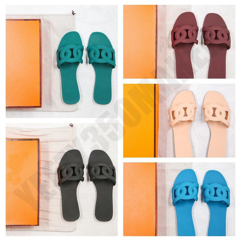 2020 Trafitto Paris H donne del progettista scarpe flip-flop Jandal dei sandali pantofola Olimpiadi Estate coperta flip-flop piatto pantofole sandalo con Box sacco aspiratore
