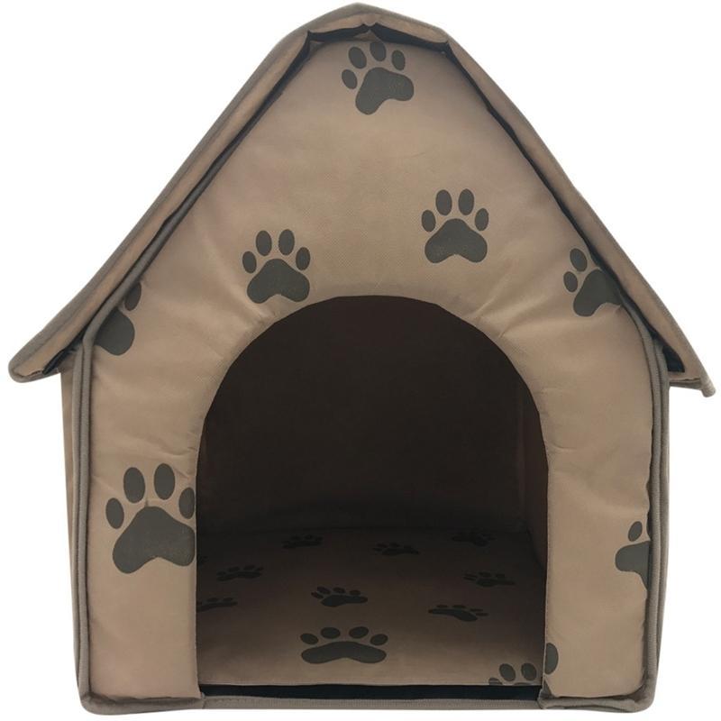 Zarif Recoleta maha-Köpek Evi Köpek Battaniye Katlanabilir Küçük Ayak izleri Pet Yatak Çadır Kedi Kumu Kennel Kapalı Taşınabilir Seyahat Pet House Kennel Pupp p kennels