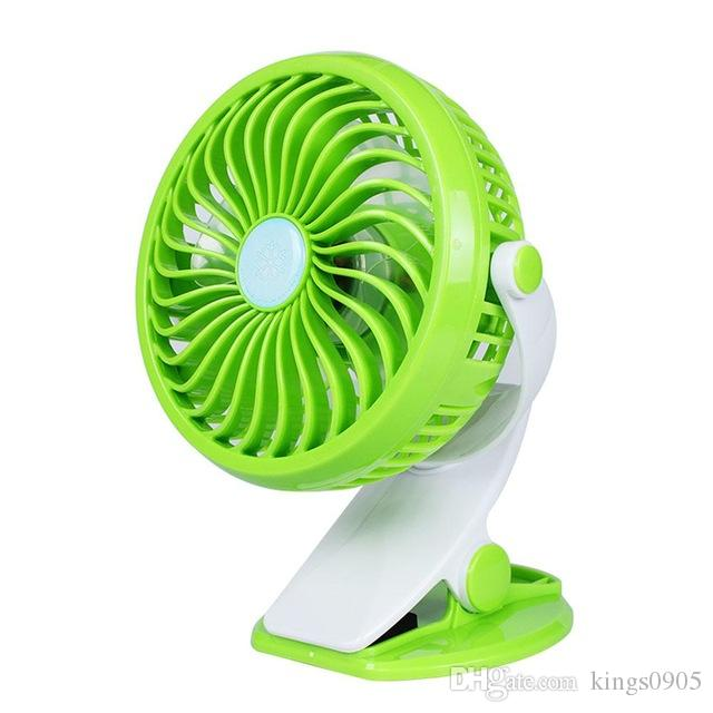 Hot sale Portable Mini USB Desk Fan Home/Student Dorm Bed Clip Fan ABS Electric Desktop Air Cooler Fan free shipping
