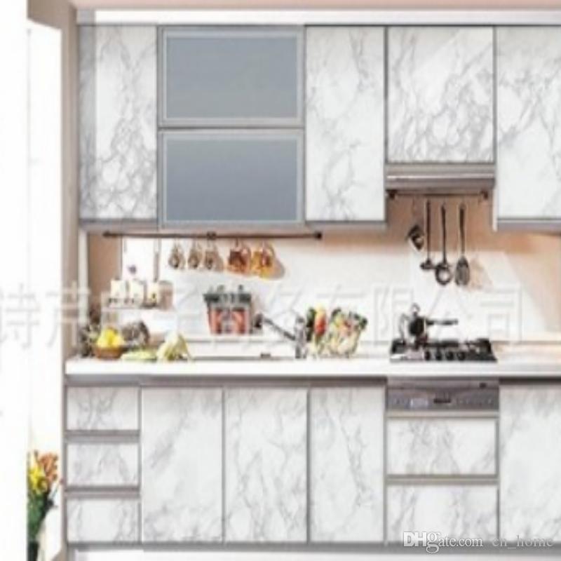Thickened Waterproof Imitation Marble Wallpaper Pvc Self Adhesive