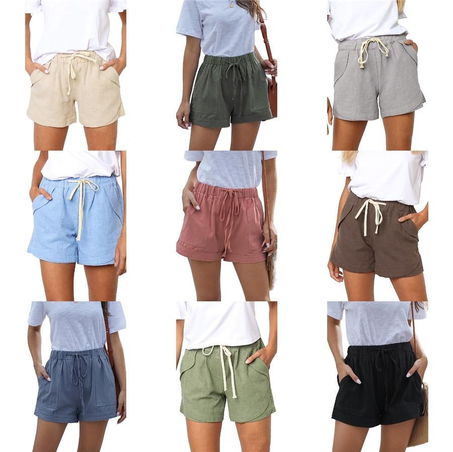 Patrón para mujer escocesa a cuadros Pantalones cortos Casual placa de circuito impreso cortocircuitos de la manera masculina de alta ropa de calle Shipping # 680