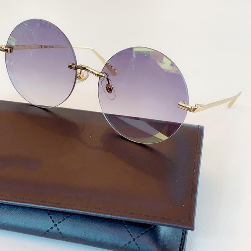 SOL UV400 RIMLEST Модные очки Женщин Солнцезащитные очки Круглые Солнцезащитные Очки Сплавные оттенки Mujer Gafas Дамы Популярные Eljpw