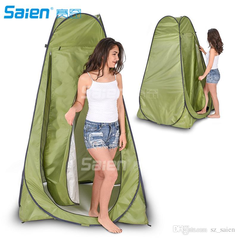 Pop Up Camping Outdoor Beach Change Room Shower Tent Toilet UV Protection UK