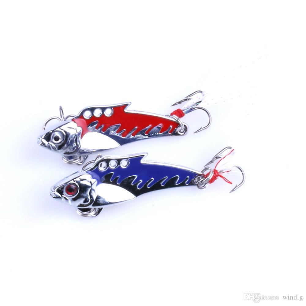 Brand Lifelike VIB Floating Fishing Lure 5.5CM 8.2G Pesca Hooks Fish Wobbler Tackle Crankbait Artificial Hard Bait