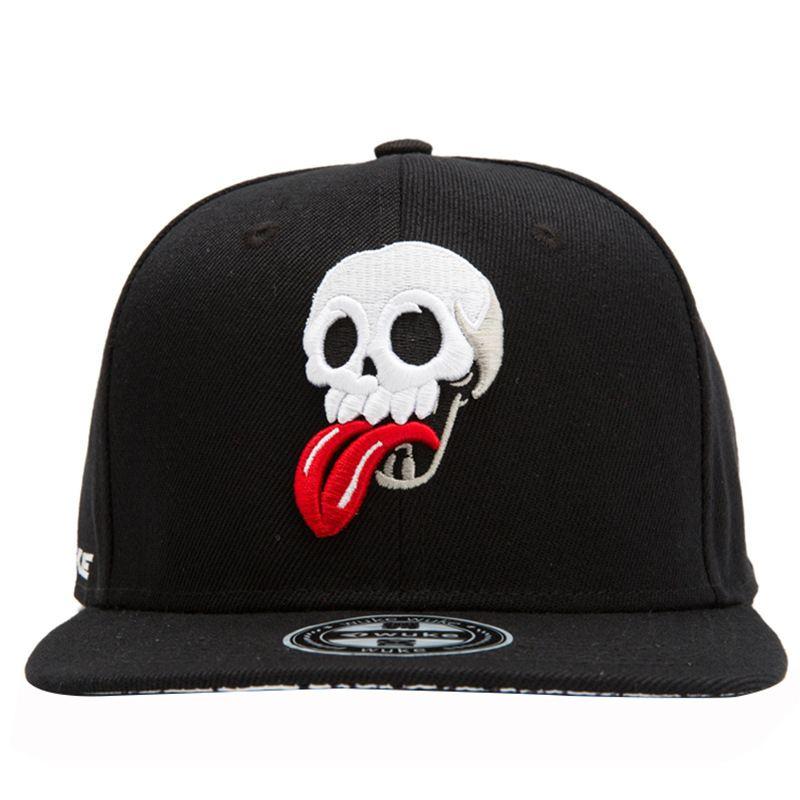 Personalidad Mueca bordado Ball Caps Hip deporte gorra de béisbol al aire libre Moda Hop Protección Solar Sombreros Accesorios