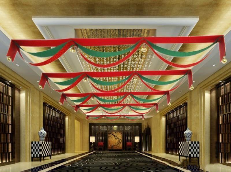 Nouvelle bannière d'arrivée pour les décorations de mariage de Noël Centres Commerciaux Drapeaux bricolage avec Jingle Bells Hanging Drapeau vague Mode Epacket gratuit