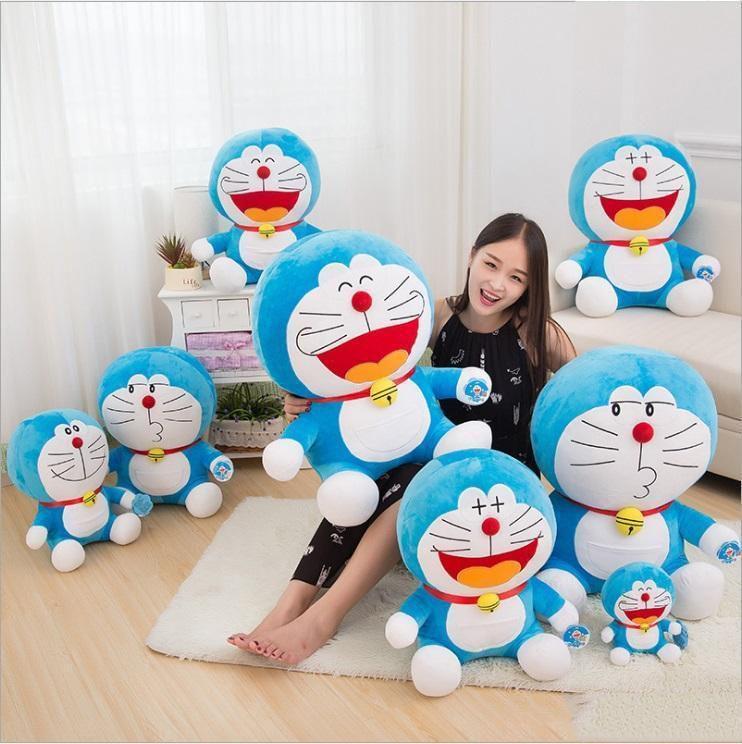 2019 new 23cm Duo a dream jingle cat Doraemon Stuffed doll toy Totoro For Kids Toys Cartoon Figure brinquedos birthday gift