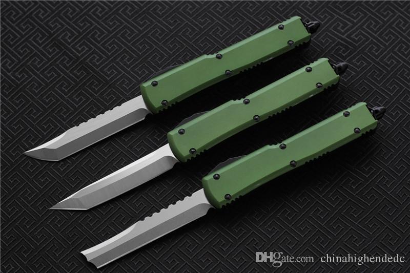 Бесплатная доставка, Микер складной нож лезвие: D2, ручка: 6061-T6Aluminum (ЧПУ) T/E, D / E. открытый кемпинг выживания ножи EDC инструмент, Оптовая продажа