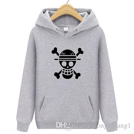 Cartoon Harajuku hommes Hoodie roi nautique Sweat Hoodies Casual hommes drôles Streetwear Anime Pull Avec Taille Plus